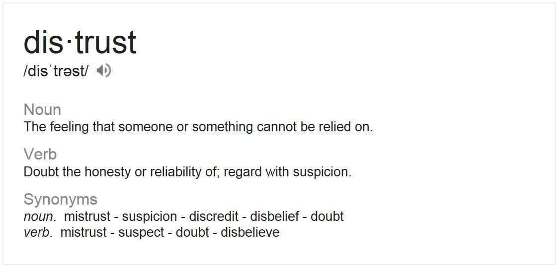 Elegant Also Looked Up The Definition Of Distrust. Another *deep Sigh* Because This  Is So Against My Nature. I Prefer To Trust Everyone I Meet Straight Off The  Bat.